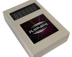 PlayPortal Player Card Issuing Unit - PlayPortal Player Card Reader Terminal