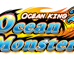 Ocean King 2: Ocean Monster Logo, Video Redemption Arcade Game