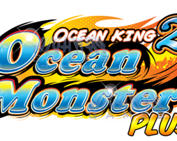 Ocean King 2, Ocean Monster Plus Arcade Machine, Video Redemtion, Logo