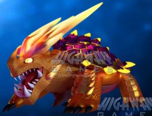 Ocean King 3 : Fire Dragon Turtle