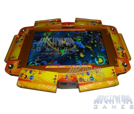 King of Treasures 6 Player Arcade Machine - 58inch model - Video Redemption