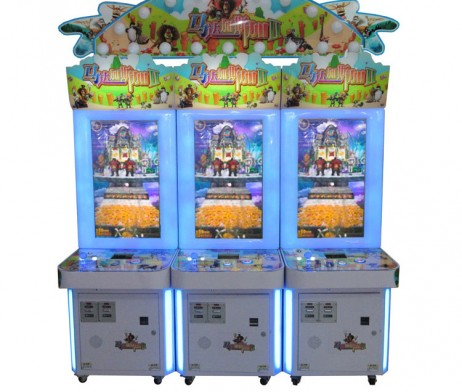 Gold Coin vs Demon King Arcade Machine