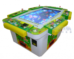 Full 6 Player Ocean King Video Redemption Arcade Game Cabinet