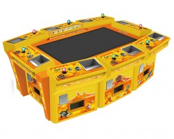 king of treasures 8 player cabinet, video redemption arcade machine, game,