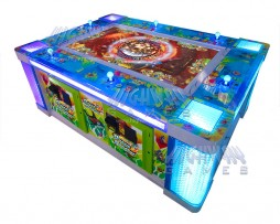 Ocean King 2: Ocean Monster Video Redemption Arcade Game Machine Cabinet with Watermarks