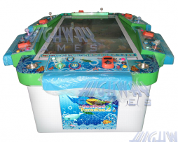 Seafood Paradise 2 6 Player Arcade Machine, Video Redemption, Fish Hunter Game